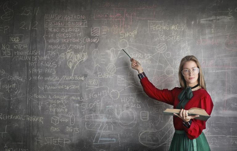 Ilustración para educación STEM.